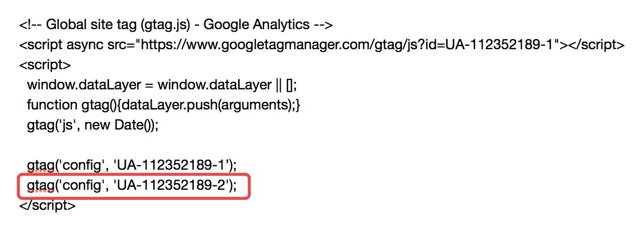 GoogleAnalytics setting2